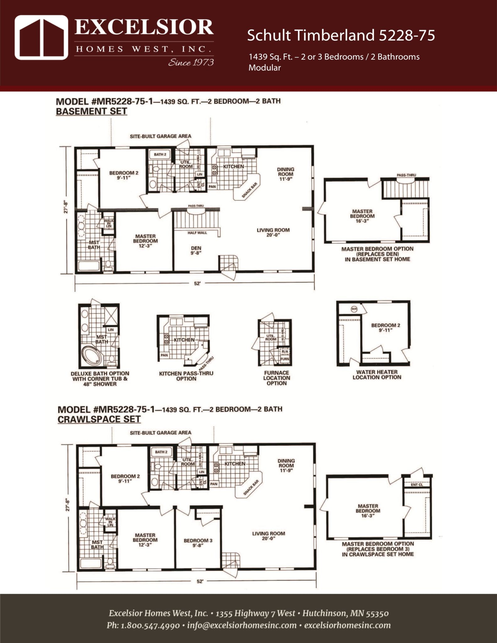 Modular Home Floor Plans Michigan Schult Timberland 5228 75 Modular Manufactured Home
