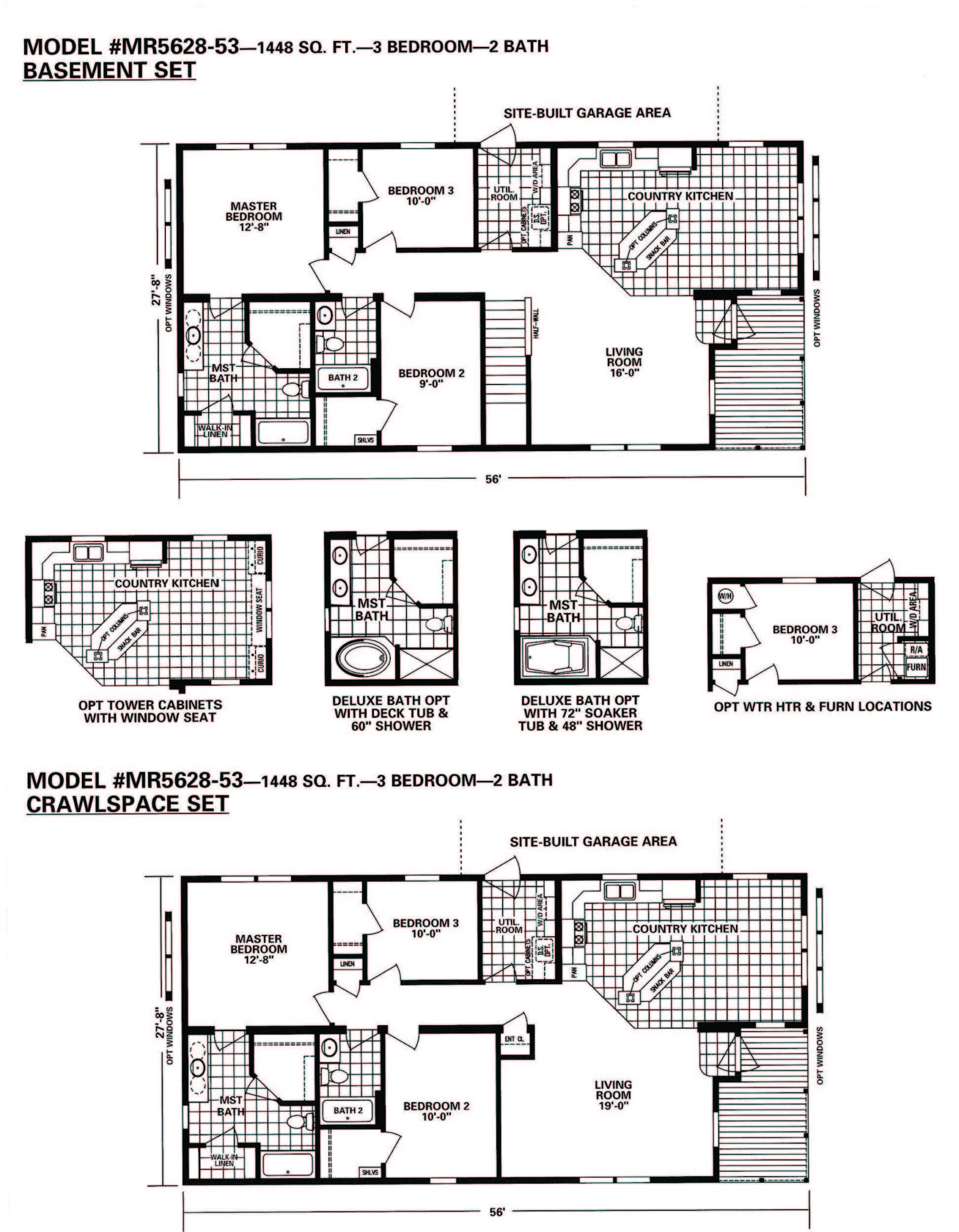 Schult Timberland 5628 53 Excelsior Homes West Inc