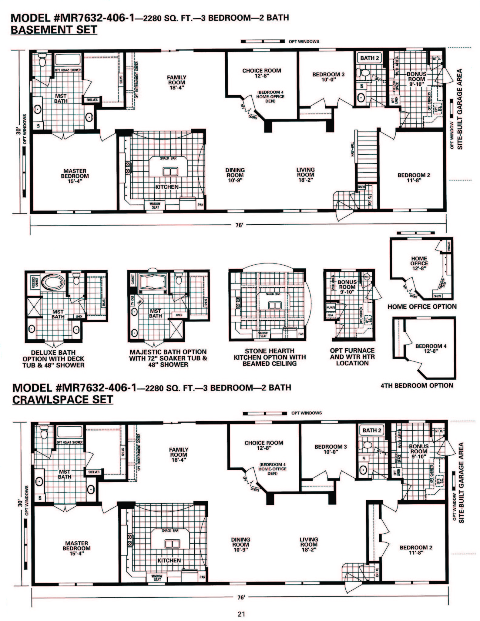 Schult timberland 7632 406 1 modular manufactured home for Timberline homes floor plans