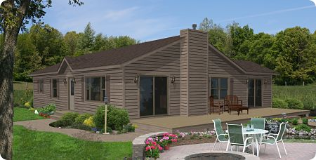 Stratford Modular Homes River Valley Exterior