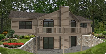 Stratford Modular Homes Sun Valley Exterior