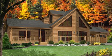 Stratford Modular Homes Timber Lodge Exterior