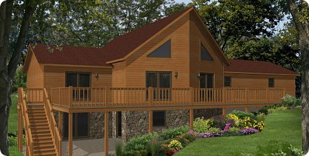 Stratford Modular Homes Timber Bluff Exterior