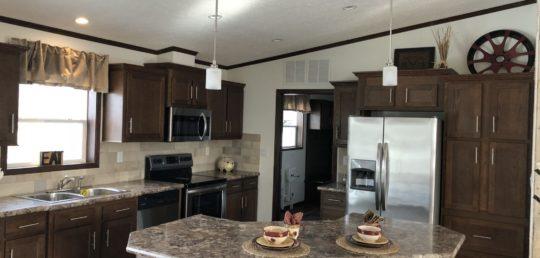 Model Name: Freedom Model Number: 405 (5228 405) Floor Plan: Rambler  Manufacturer: Schult Homes